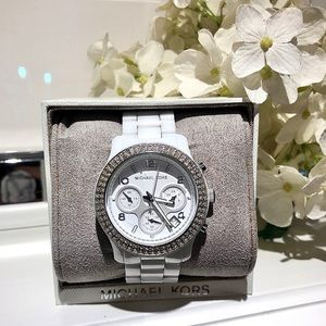 Michael Kors | White Ceramic Watch 38mm MK 5188